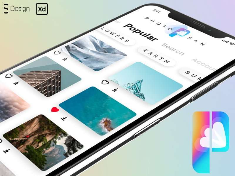 photostock mobile app title