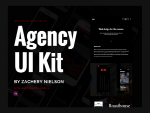 XD Agency UI Kit 1